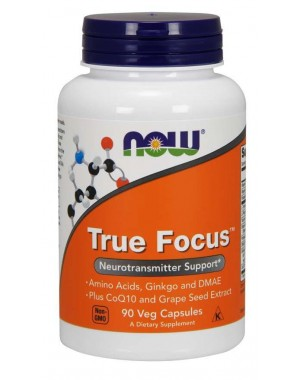 True Focus  90 Veg Capsules NOW Foods