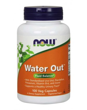 Water Out 100  Veg Capsules Now Foods