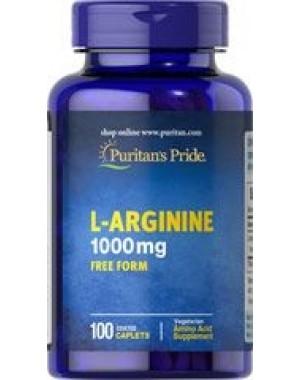 L Arginina 1000mg 100caps PURITANS Pride