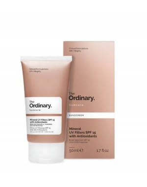 Mineral UV Filters SPF 15 with Antioxidants The Ordinary 50ml