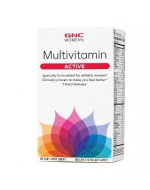 Multivitamin active women multivitaminico para mulheres 90 caplets GNC