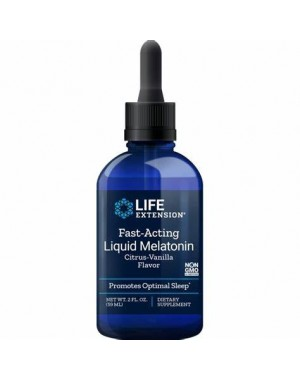 Melatonina Líquida Fast Acting 3mg 59ml LIFE Extension