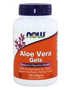Aloe Vera Gels 10,000mg 100 softgels NOW Foods