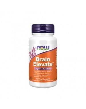 Brain Elevate 60 vegcaps NOW Foods