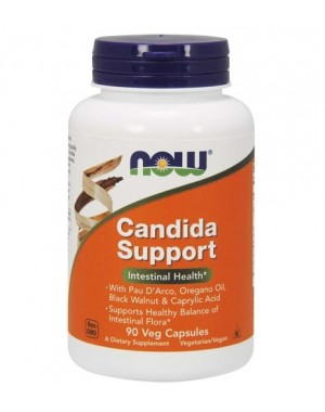 Candida Support 90 Vegcaps NOW Foods