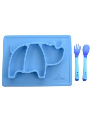 Prato Silicone baby placemat rhino - Babies Tribo