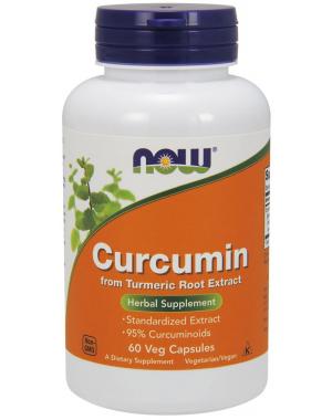Curcumin 60 Veg Caps NOW Foods