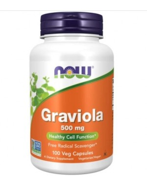 Graviola 500mg 100vcaps NOW Foods