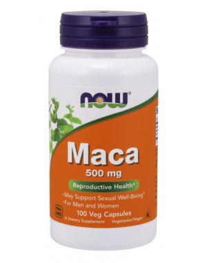 Maca 500mg 100 veg caps NOW Foods