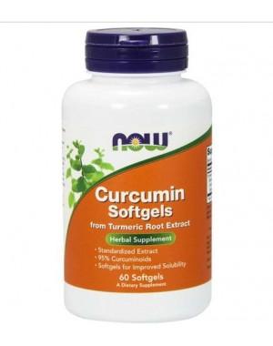 Curcumin 60 softgels NOW Foods