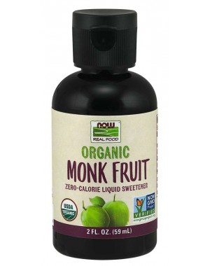 Monk Fruit Organic 59 ml NOW Foods