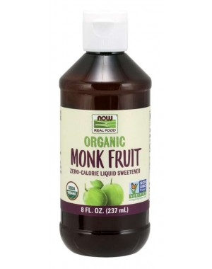 Monk Fruit Organic 237 ml NOW Foods