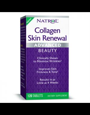 Collagen Skin Renewal Advanced Colageno 120 tablets NATROL
