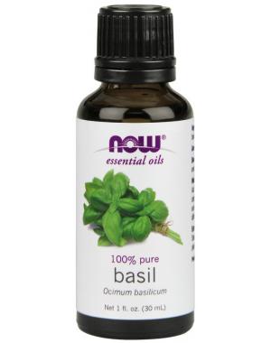 Óleo Essencial de Basil 30ml NOW Foods