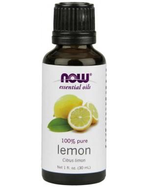 Óleo Essencial de Limão Siciliano 30ml NOW Foods