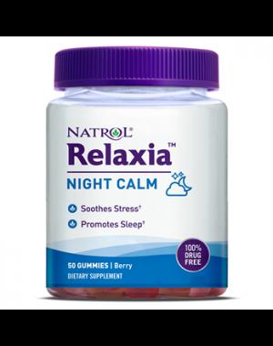 Relaxia Night Calm Noite calma 50 gummies NATROL