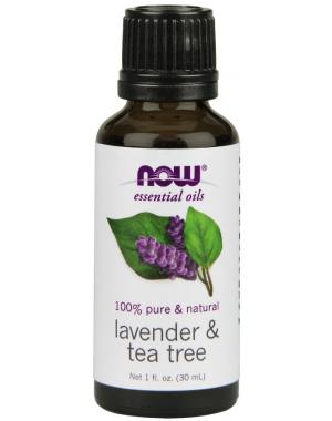 Óleo Essencial Blend Lavender & Tea Tree 30ml NOW Foods