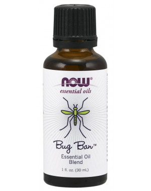 Óleo Essencial Blend Bug Ban 30ml NOW Foods