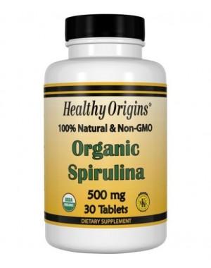 Spirulina Organica 500mg 30tablets HEALTHY Origins