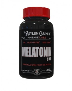 Melatonina 5mg 100 caps Insane Labz