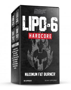 LIPO 6 HARDCORE 60 caplets NUTREX