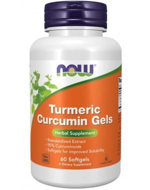 Turmeric Curcumin Gels 60  Softgels NOW