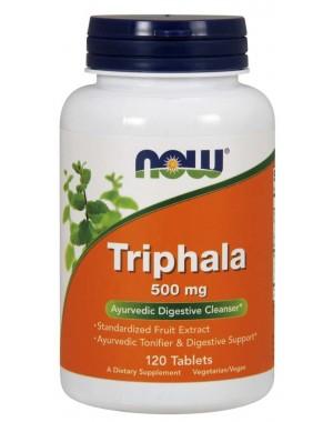 Triphala 500 mg  120 Tablets NOW