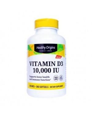 Vitamin D3 10.000 IU 360 softgels HEALTHY Origins