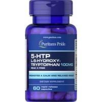 5 HTP  100 mg 60 capsulas PURITANS Pride