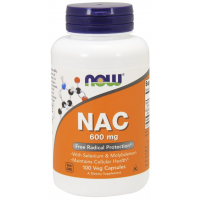 NAC 600 mg 100 Veg Capsules NOW Foods
