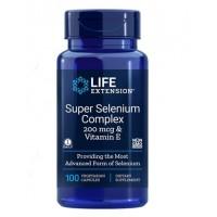 Super Selenium Complex 200 mcg 100vegcaps LIFE Extension
