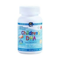 Children's DHA 250 mg Omega 3 90 caps NORDIC Naturals