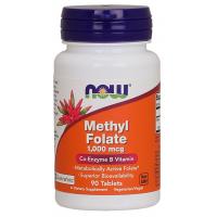 Methyl Folate 1000 mcg 90 tablets NOW Foods
