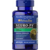 Neuro PS Phosphatidylserine 100 mg 60 softgels PURITANS Pride