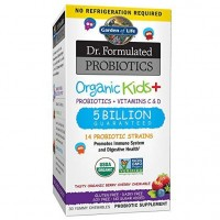 Probiotics Organic Kids Dr. Formulated 30 yummy chewables GARDEN OF LIFE