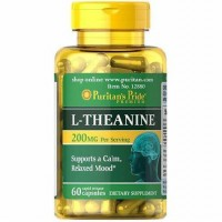 L Theanine 60 Rapid Capsules PURITANS PRIDE