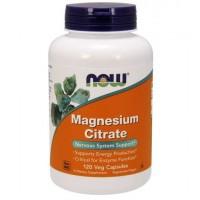 Magnesio citrate 120 veg capsules NOW Foods