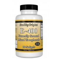 Vitamina E 400 90softgels HEALTHY Origins