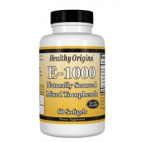 Vitamina E 1,000 60 softgels HEALTHY Origins