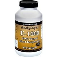 Vitamina E 1,000 240 softgels HEALTHY Origins