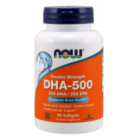 DHA 500mg 90 Softgels NOW Foods