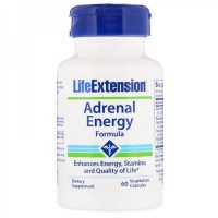 Adrenal Energy 60 Caps LIFE Extension