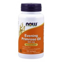 Evening Primrose Oil 500 mg 100 Softgels NOW Foods