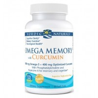 Omega Memory com Curcumin 60 count NORDIC Naturals