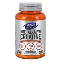 Kre Alkalyn Creatine 120 Capsules NOW Foods