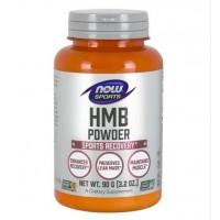 HMB Powder em Pó 90g NOW Foods