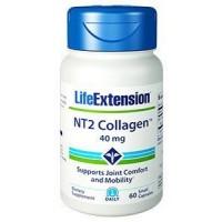 NT2 Colágeno 40mg 60 caps LIFE Extension
