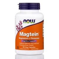 Magtein Magnesio L Threonate 90 Veg Capsules NOW Foods
