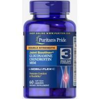 Glucosamina e Chondroitina Double Strength & MSM 60 caplets PURITANS