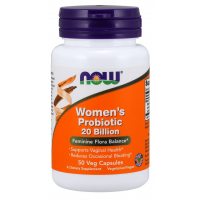 Women s Probiotic 20 Billion 50 Veg Capsules NOW Foods